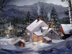 Sneeuwhuis romantiek