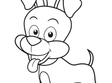 Hond Kleurplaat Zacov