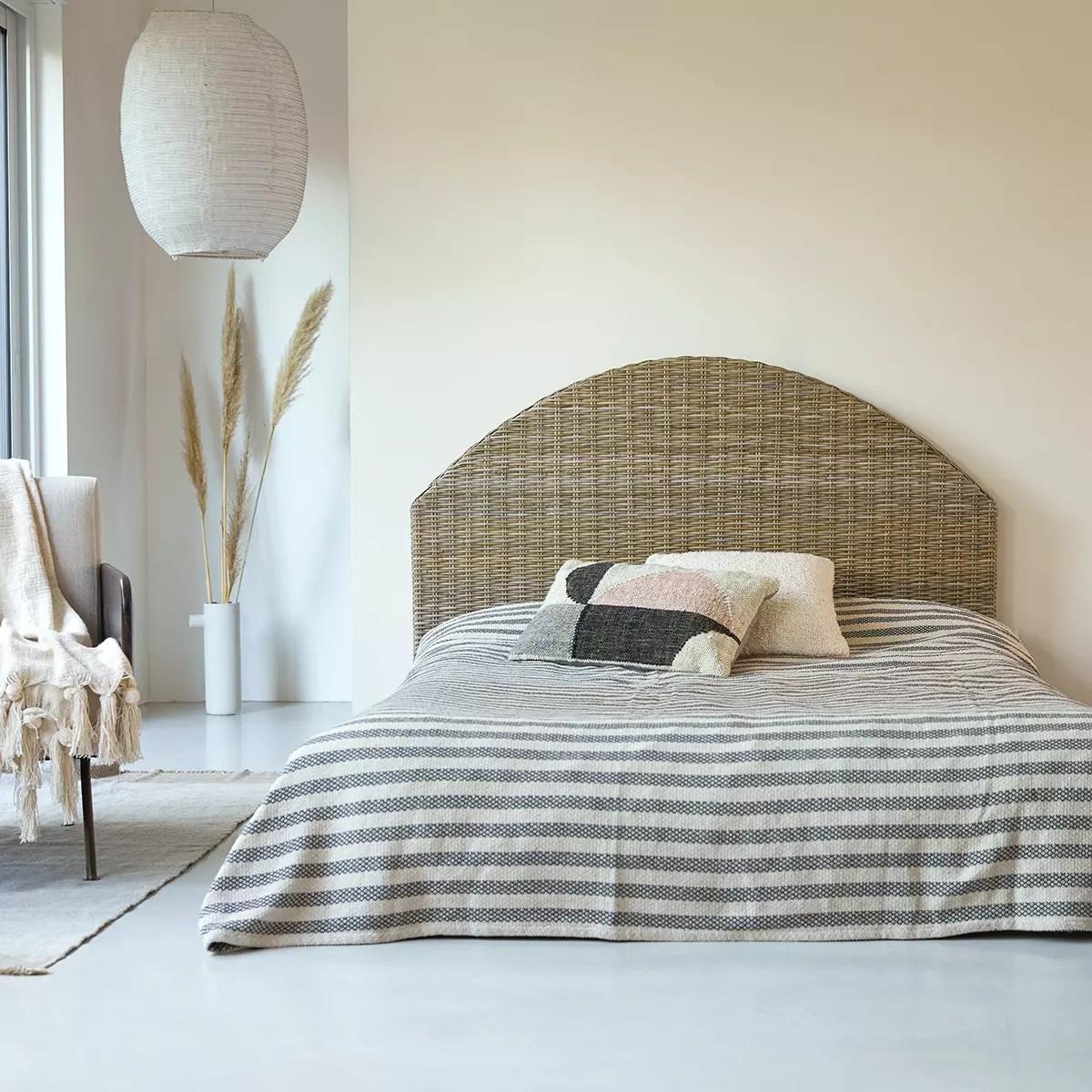 tete de lit en kubu 160 cm louison