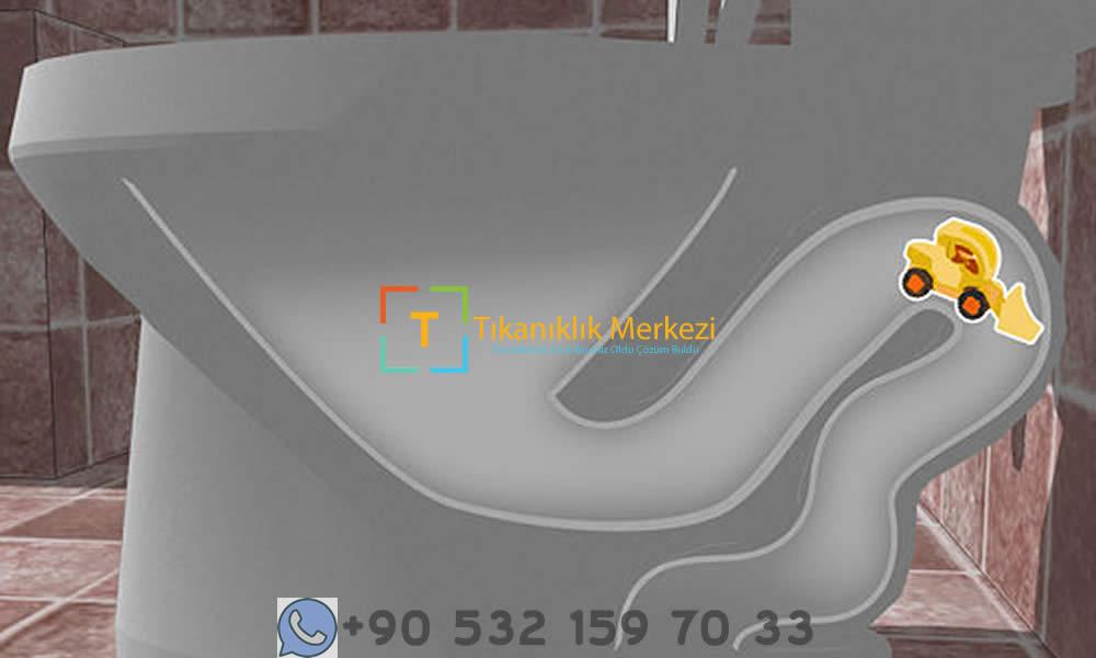 Tıkanan Tuvalet Klozet Tıkanıklığına Kesin Çözüm Görseli Şekil1