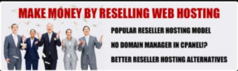 Make Money from Reselling Hosting Services, VPS & Domains.