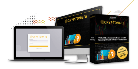 Cryptomate Review: Get 100% Automated Bitcoin Commissions As An Affiliate?