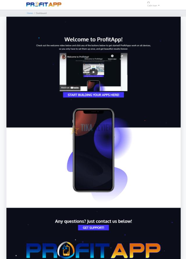 ProfitApp demo