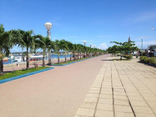 Puerto Princesa City Baywalk Park, Palawan, Philippines