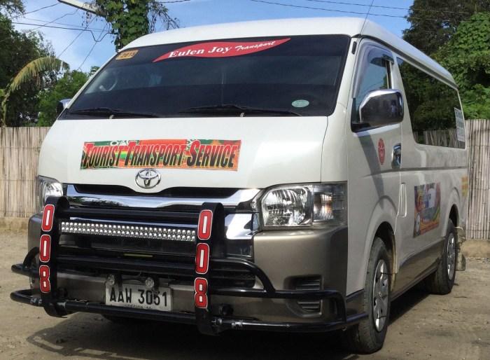Eulen Joy Express Transport Service Palawan