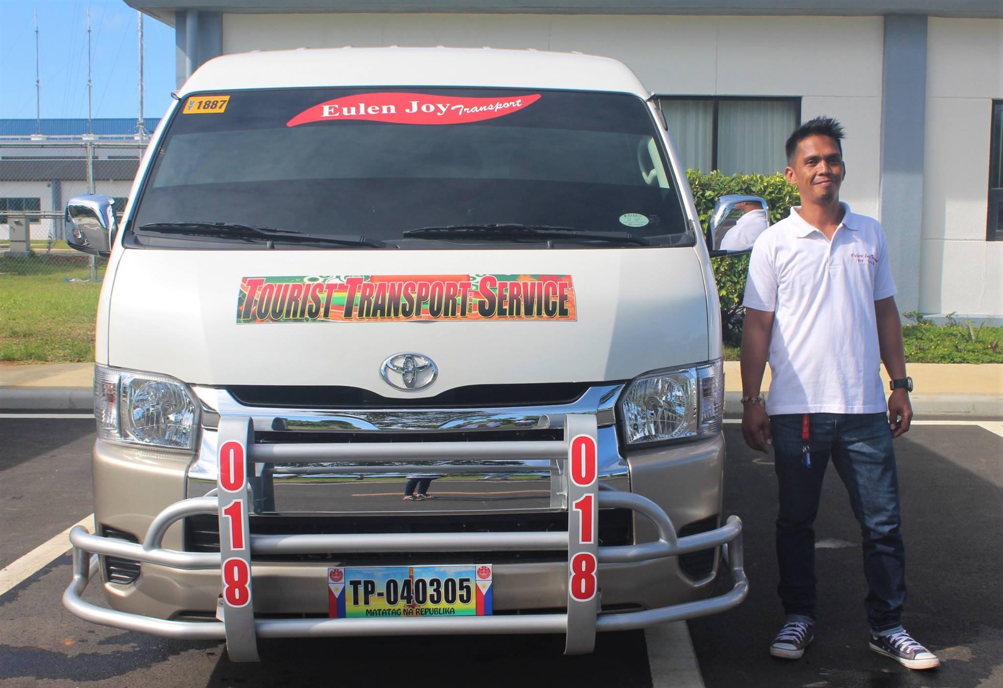 Eulen Joy Express Van Driver in Palawan