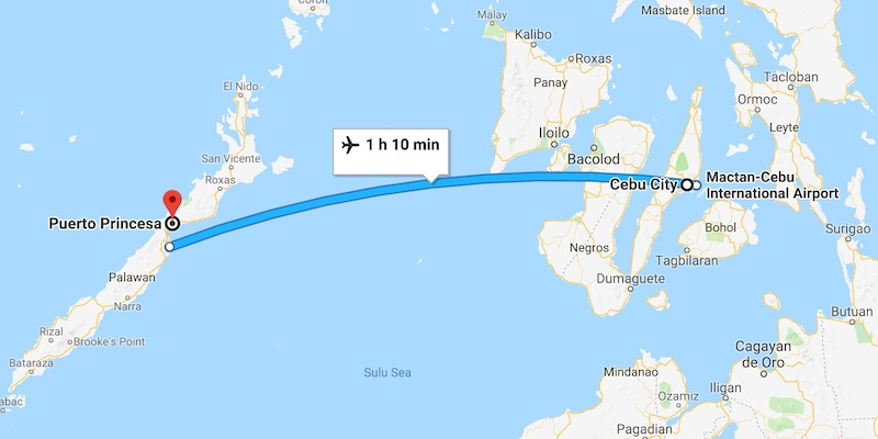 How To Go From Cebu To Puerto Princesa