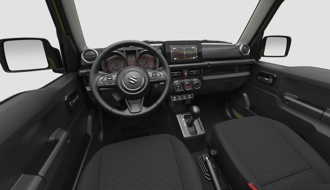 Suzuki Jimny Interior Front