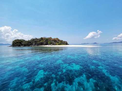 Tacling Island in Linapacan, Palawan