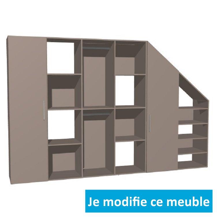 meuble sous pente sur mesure
