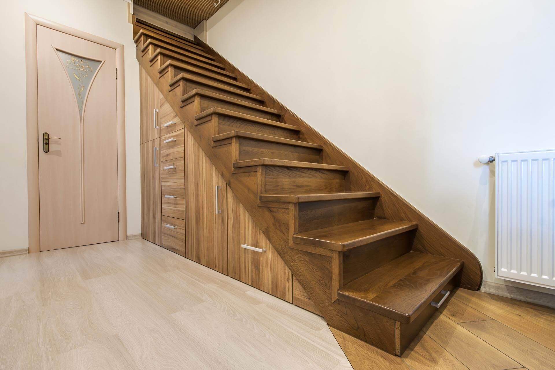 le rangement sous escalier sur mesure