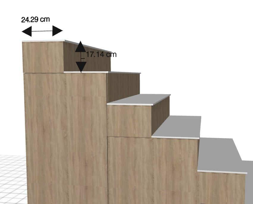 Escalier Sur Mesure Meuble A Personnaliser Pour Mezzanine