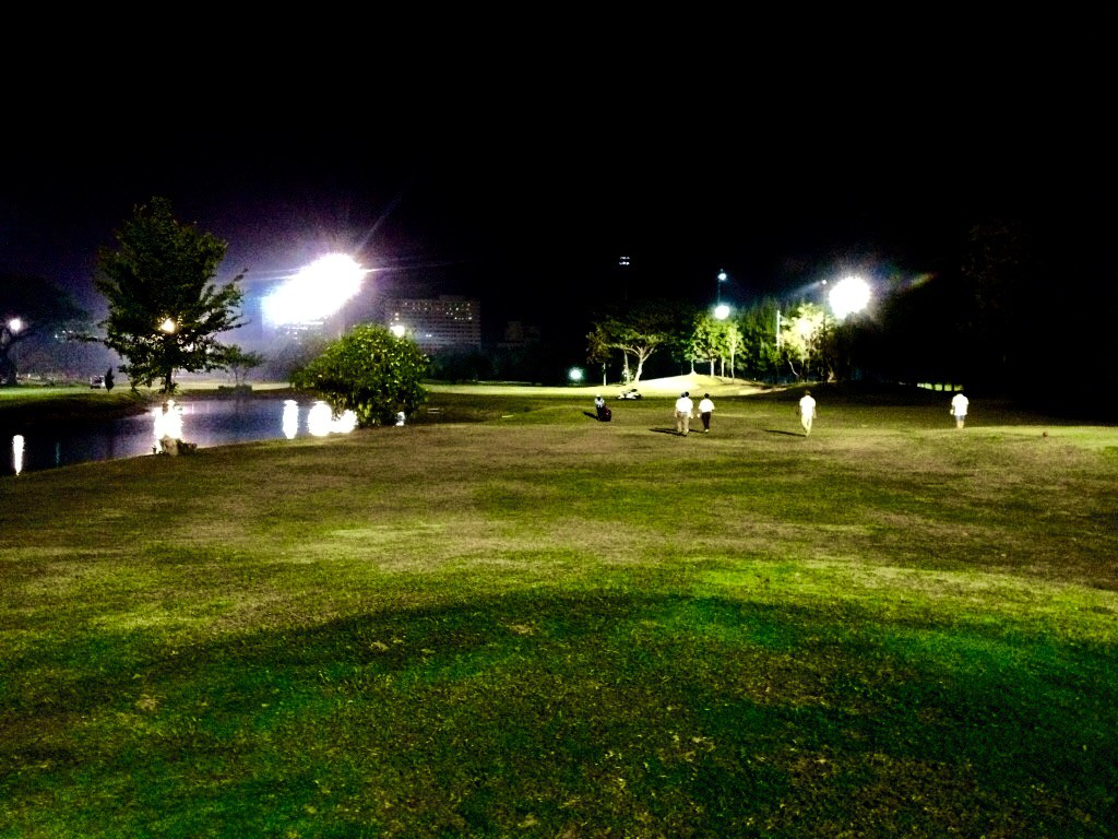 Night golf chiang mai