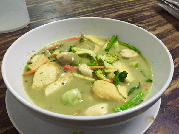 Chiang mai green curry