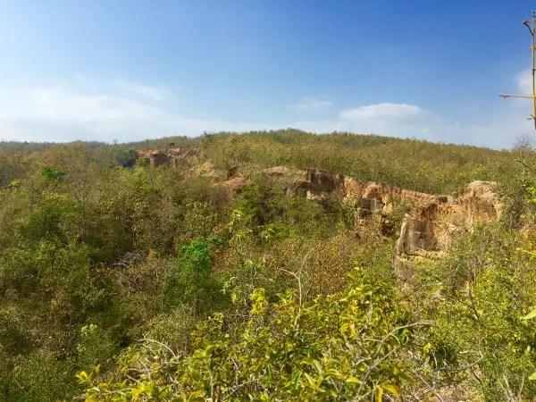 Mae Wang National Park views