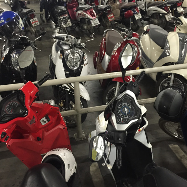 Get a scooter for your Chiang Mai adventures