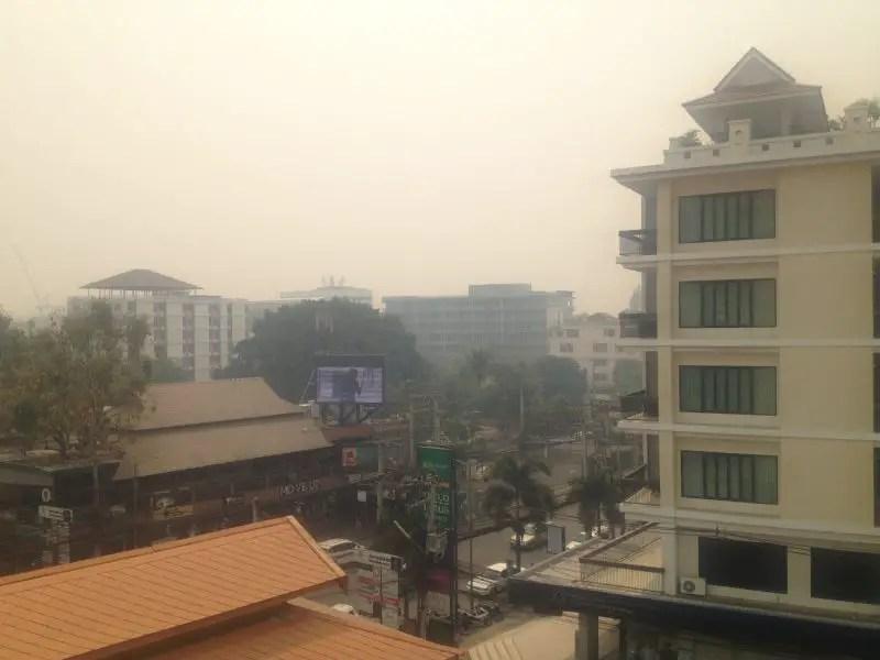 chiang mai in burning season