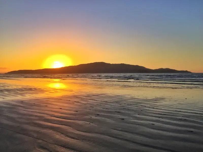 waikanae sunset