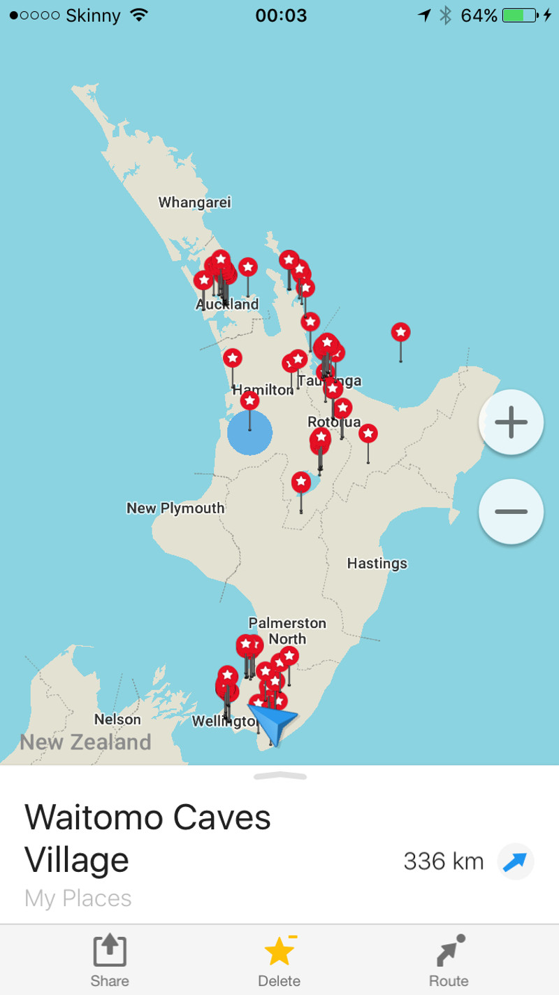 Best New Zealand Travel Apps 7 Essentials Tiki Touring Kiwi – Travel Map With Pins App
