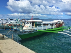 one of the ferries from surigao
