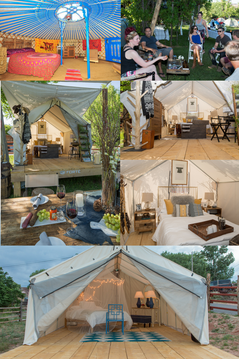 Diy glamping tents best tent accessories to buy tiki for Glamping ideas diy