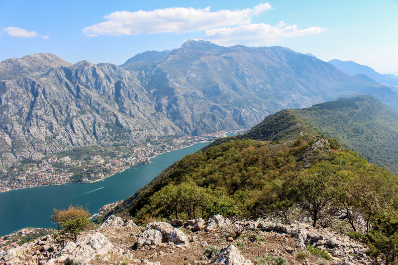 kotor bay view points