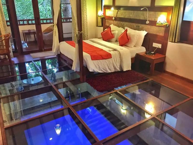 honeymoon pool villa resort munnar kerala india