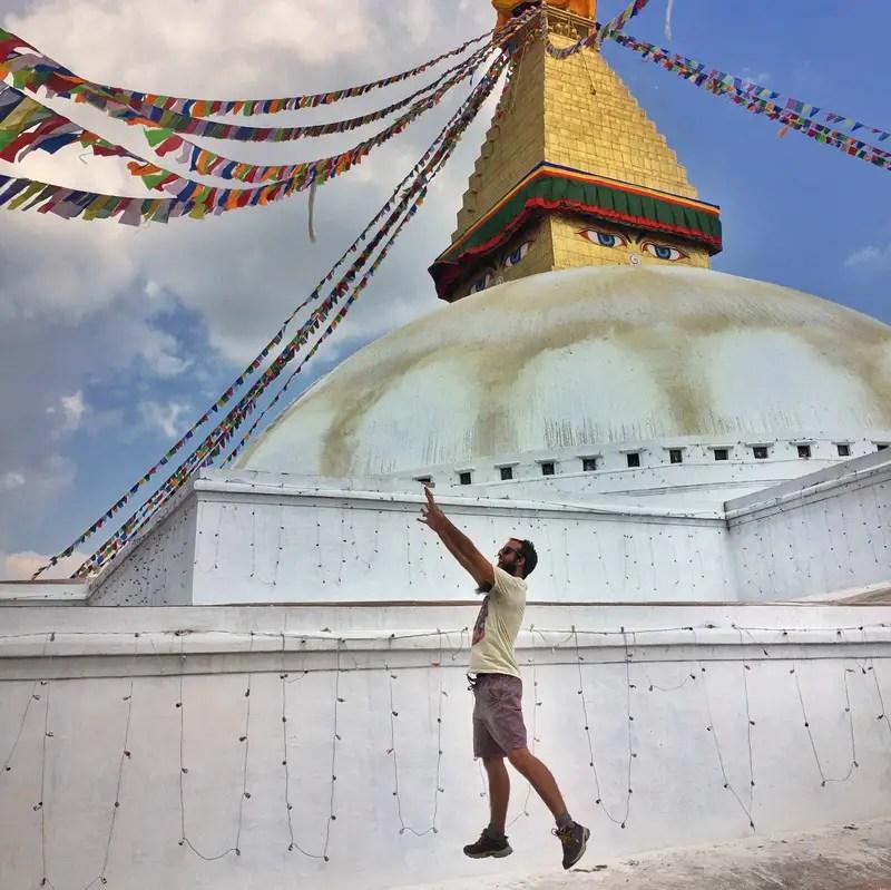 round temple boudha stupa