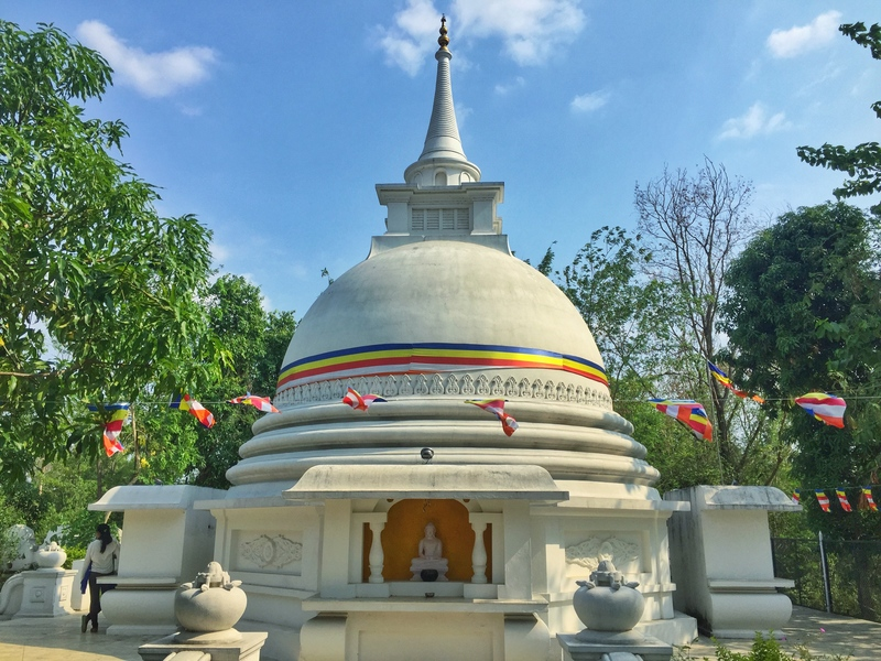 sri lankan monastery lumbini
