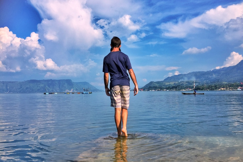 lake toba jetty