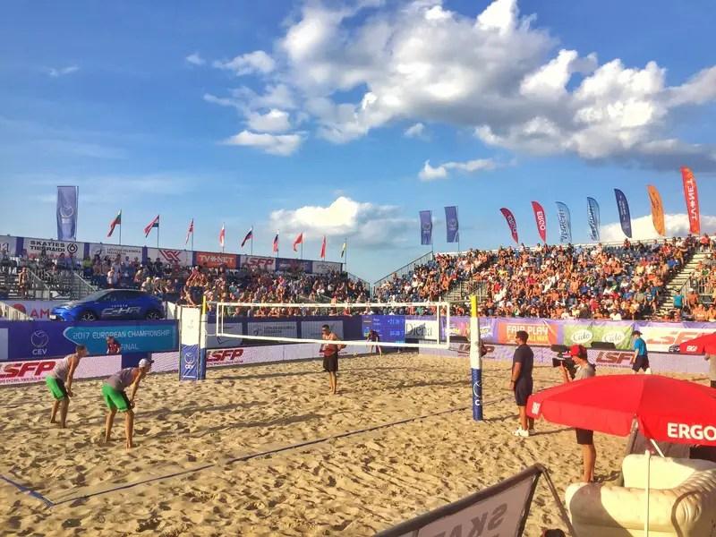 beach volleyballs tournaments