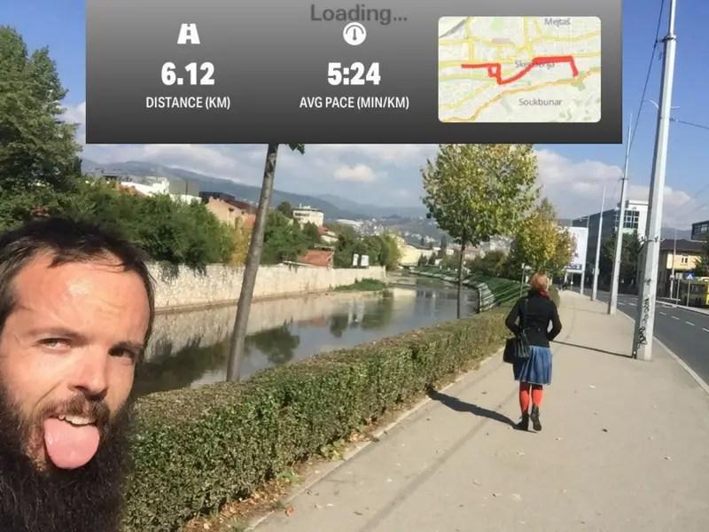 running sarajevo