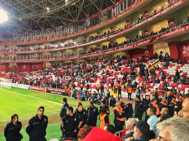 security at football in turkey