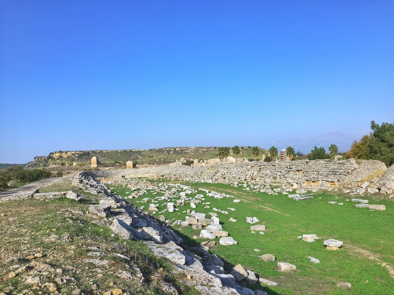 ancient stadium anatolia