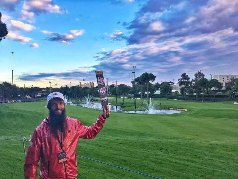 golf volunteer