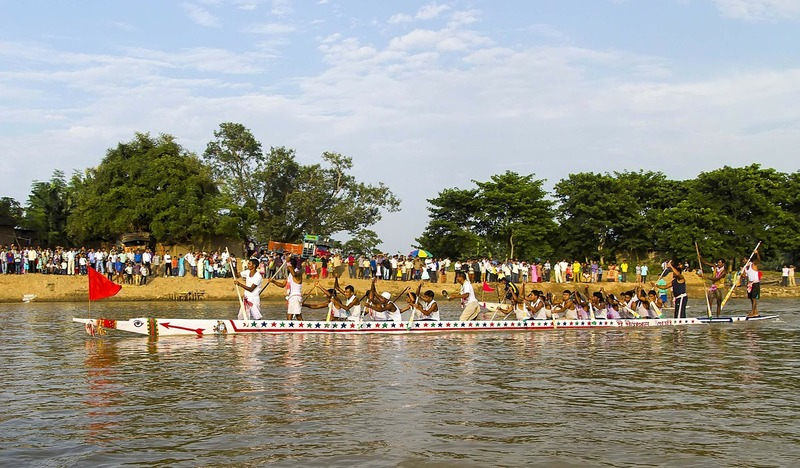 snake boat racing in india