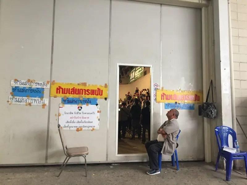 door to muay thai televised event