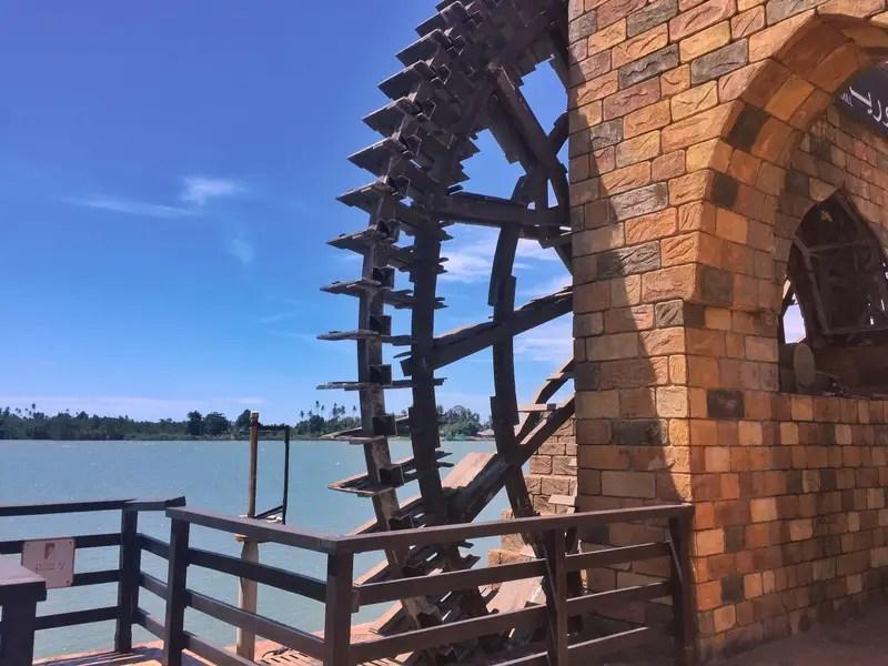 TTI Waterwheel