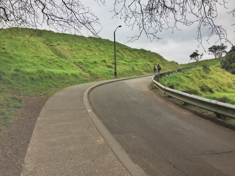 walking up mt eden