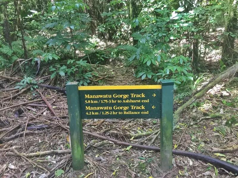manawatu gorge signs