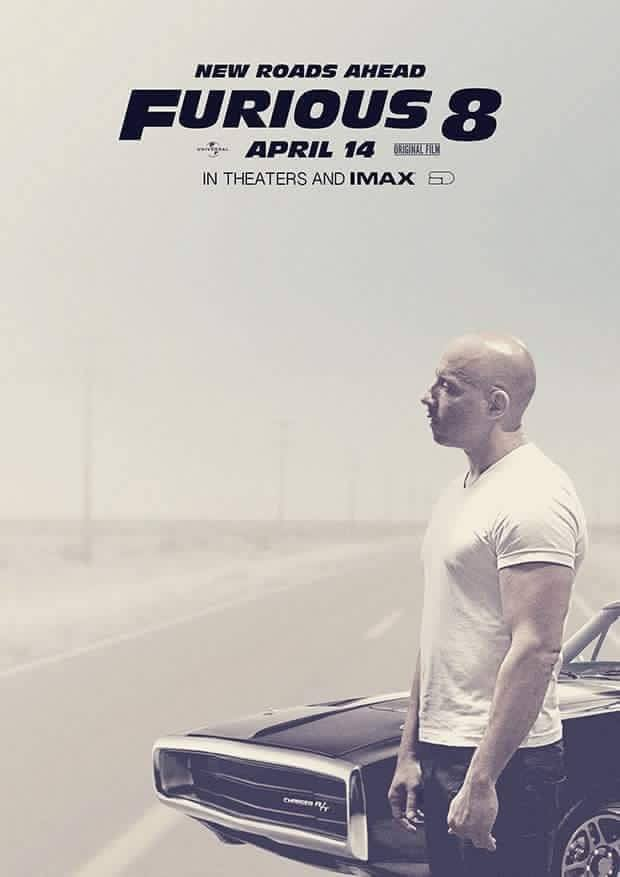 furious 8 teaser poster released new roads ahead Furious 8