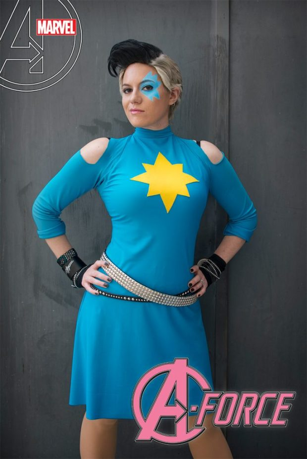A Force 10 Cosplay Variant Cosplay by Corrine Vitek 684x1024 A force #10 cosplay variant cover