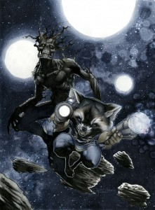 Rocket and Groot in Space 221x300 Rocket and Groot in Space
