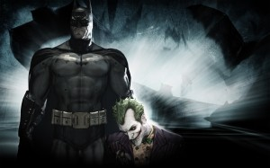 batman holds the joker 300x187 batman holds the joker