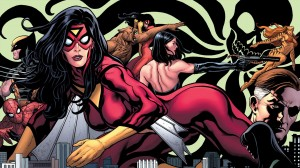 spider woman spider man wolverine tigra nick fury 300x168 spider woman, spider man, wolverine, tigra, nick fury