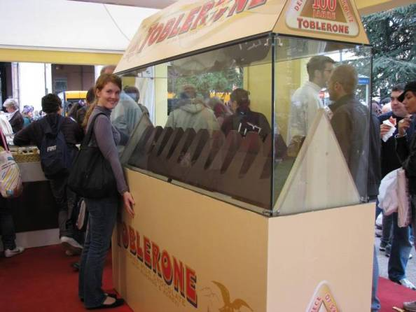 A very large Toblerone A very large Toblerone