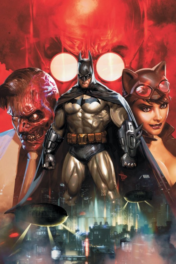 Batman and Two Face and Catwoman 685x1024 Batman and Two Face and Catwoman