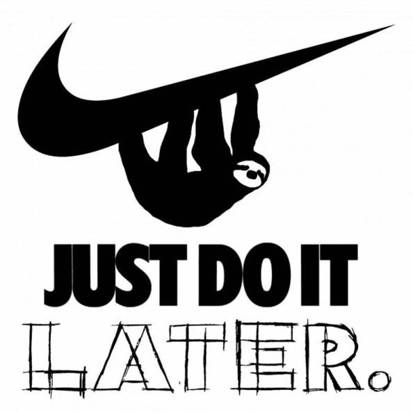 Just do it Later Just do it Later