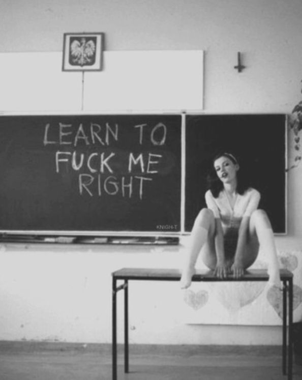 Learn To Fuck me Learn To Fuck me