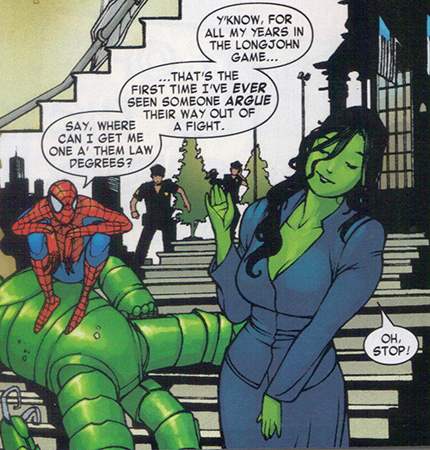 She Hulk lawyer with Spider Man She Hulk lawyer with Spider Man